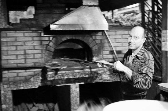 Vagabondo Pizzeria Ristorante: The PIzza Man