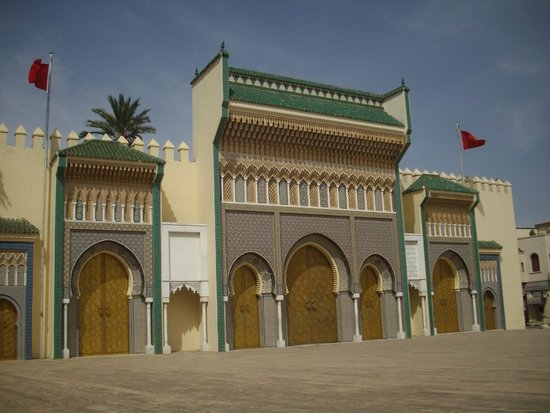 medina of fez fes royal palace gates