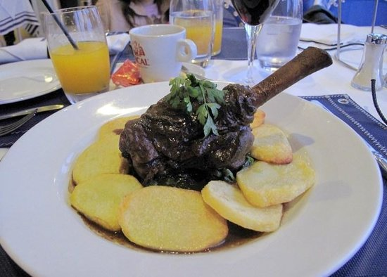Restaurante Akvavit : lamb