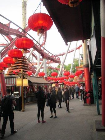 Jardins de Tivoli : Chinese area