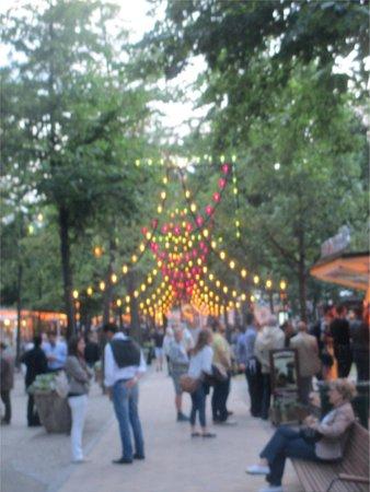 Jardins de Tivoli : Lights coming on