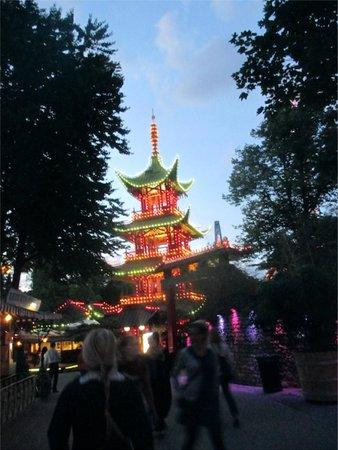Jardins de Tivoli : Pagoda