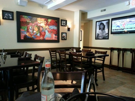 Frankie's Italian Trattoria: I watched the world cup.