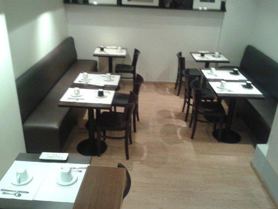 Cosmo's Hotel : Der Speisesaal im Erdgeschoss