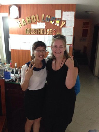 Hanoi Lucky Guesthouse : Tam saying good-bye, once again thankyou Tam!!