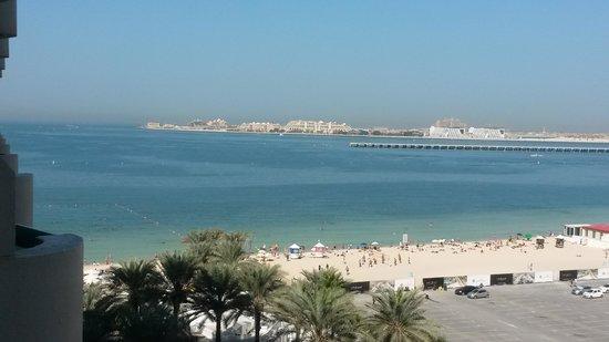 Hilton Dubai Jumeirah Beach: View from the room