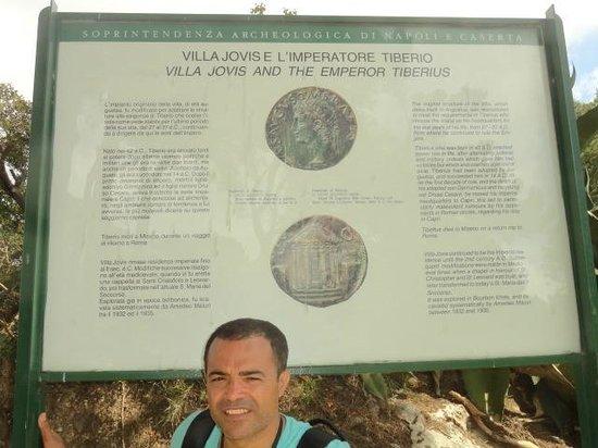 Villa Jovis : uma viagem no tempo.