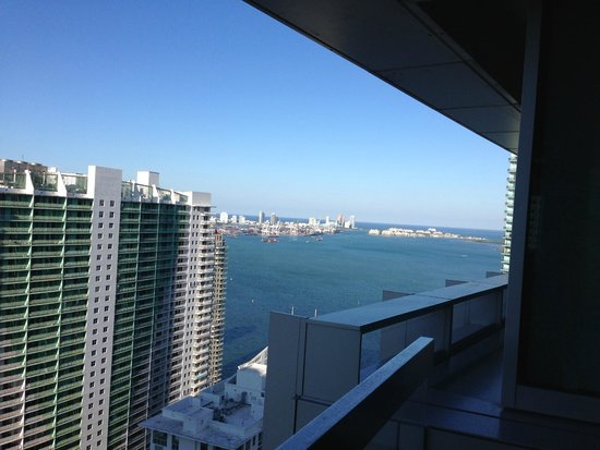 Conrad Miami: View from the balcony