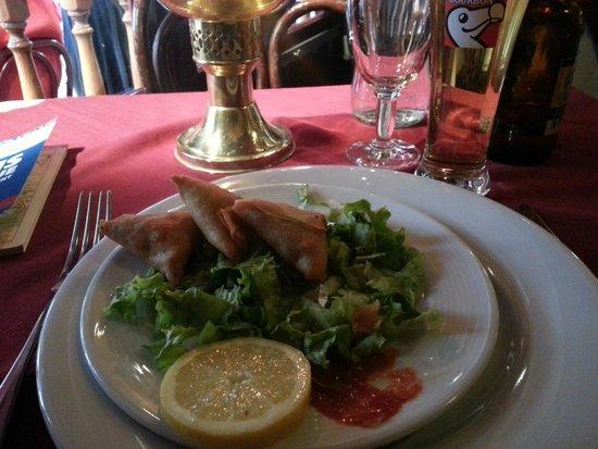 Le Bernica : A table