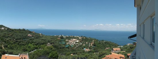 Grand Hotel Aminta: View from the room