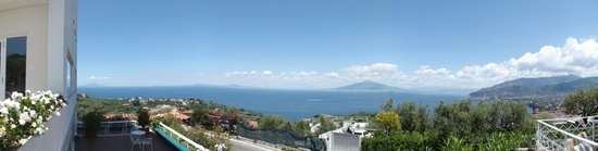 Grand Hotel Aminta: View over the bay