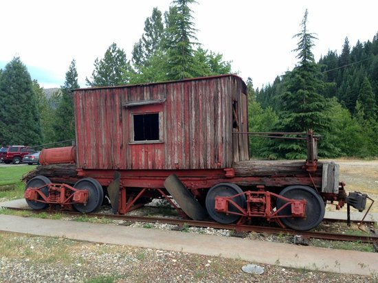 Railroad Park Resort: Antique rail car (not an accommodation!)