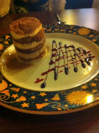 La Fontana Italian Restaurant : The best Tiramisu I have ever had