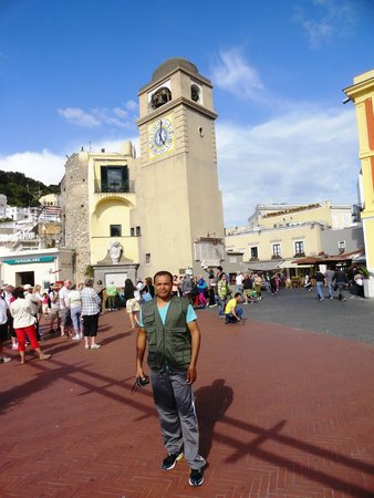 Villa Jovis : colete de quinze euros,em Capri