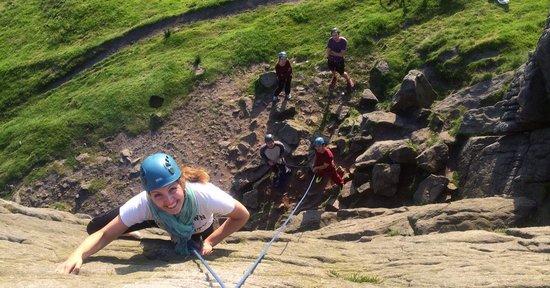 Peak Mountaineering Day Tours: Climbing at Windgather