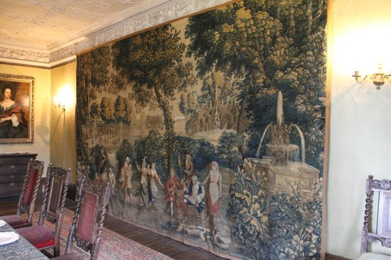 Chastleton House and Garden: Tapestry