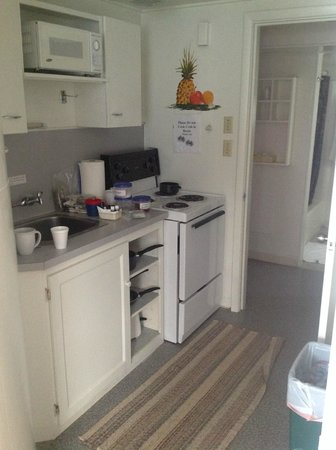 Table Rock Motel: Cute little kitchen