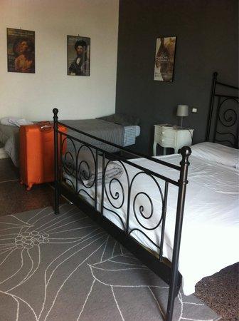 A Casa di Giallo: 非常乾淨又漂亮有冷氣的房間