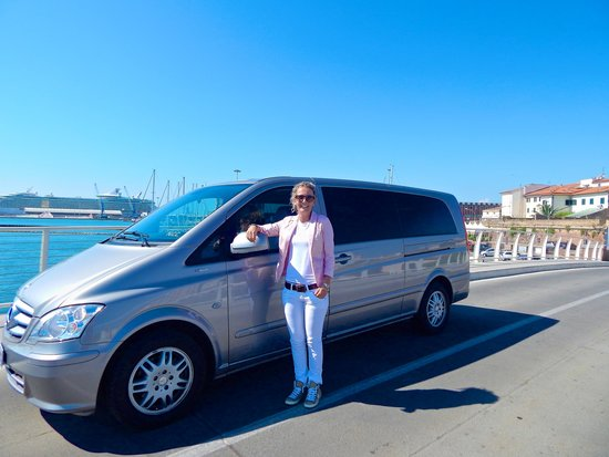 Red Cap Tours Of Tuscany Private Brand New Mercedes Van We Road In