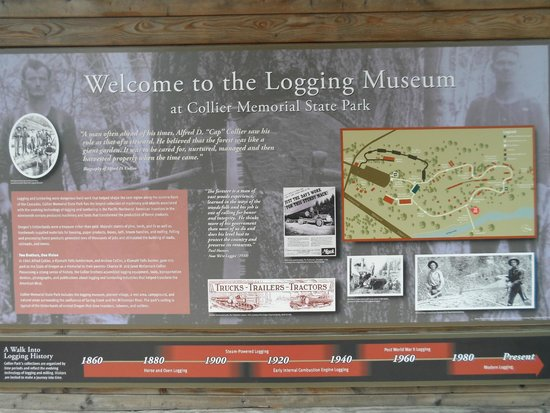Collier Memorial State Park: Logging Museum