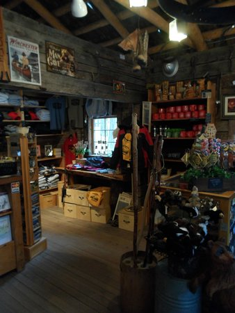 Collier Memorial State Park: Pioneer Museum gift shop.