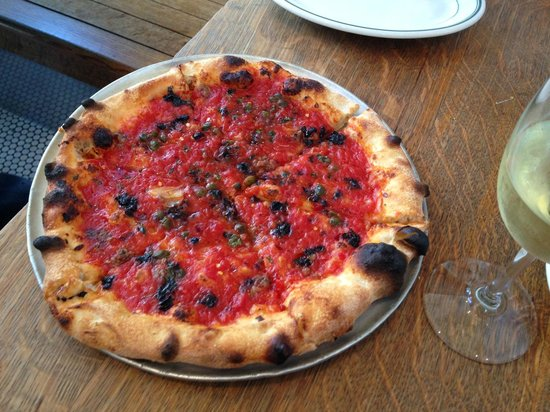 Pizzeria Delfina : Pizza Napoletana