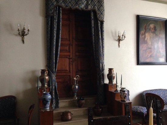 Casa di Santa Brigida : Interno