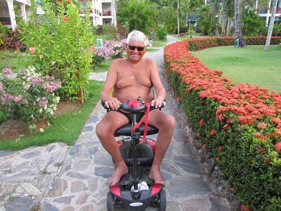 Hotel Residence Playa Colibri: nice tropical garden