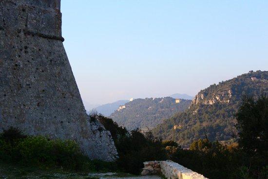 Fort du Mont Alban: Scenery