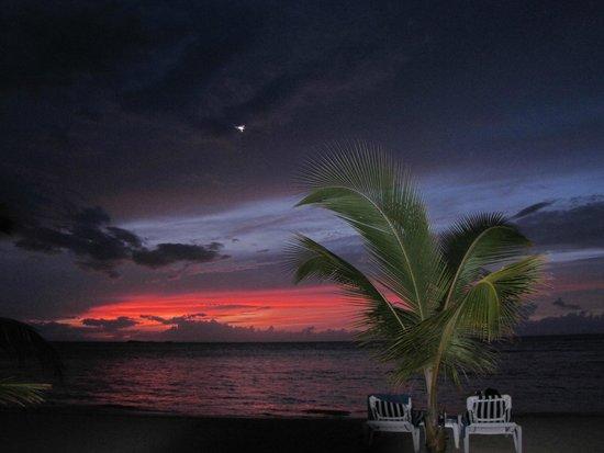 Hotel Residence Playa Colibri: sunset