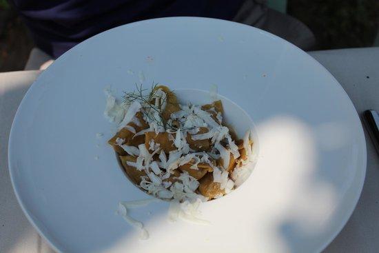 Battipalo: Ravioli con ripieno di coniglio