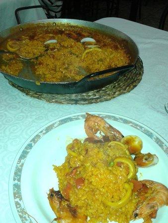 Xaica Restaurant : Adorabile paella
