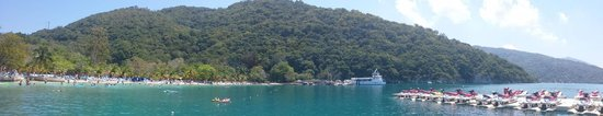a view of beautiful Labadee