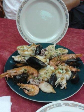 Xaica Restaurant : Mix di mare
