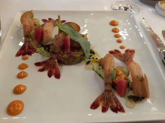 Comme Chez Soi : Shrimp Appetizer