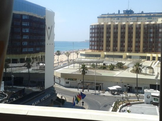 Hotel Spa Cadiz Plaza: Vistas desde el hotel