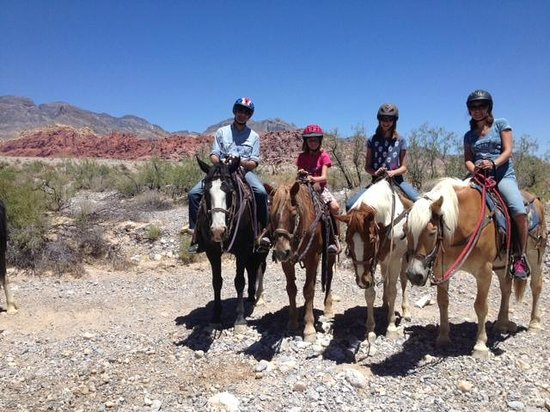 Cowboy Trail Rides, Inc. : The Family on the Coyote Canyon ride