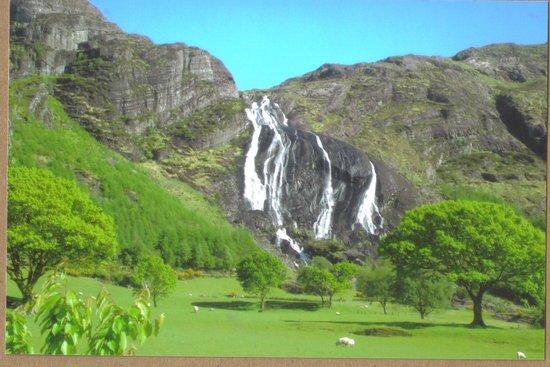 View of Gleninchaquinn Waterfall
