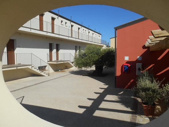 Alghero Resort Country Hotel: Vue des chambres