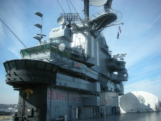 Intrepid Sea, Air & Space Museum: Buen paseo