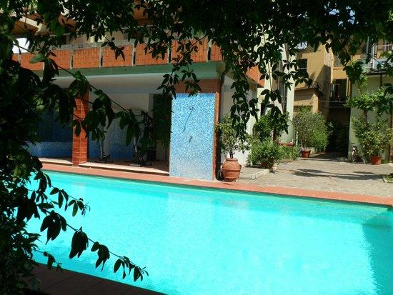 Hotel Cappelli: Зона бассейна