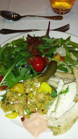 Champneys Tring: Lunch! When healthy food tastes good!