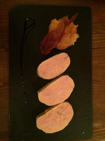 Lauracée : Foie gras