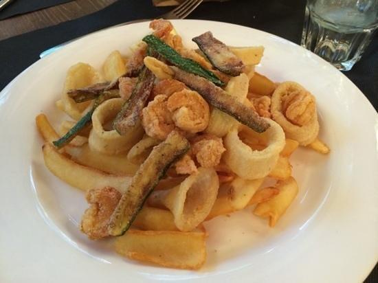 Al Burigiott: Burigiott - Carate Brianza ... fritto misto !!!!