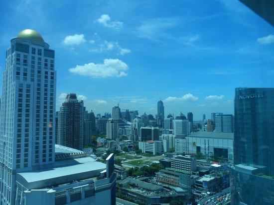 Amari Watergate Bangkok : Blick aus dem 21.Stock