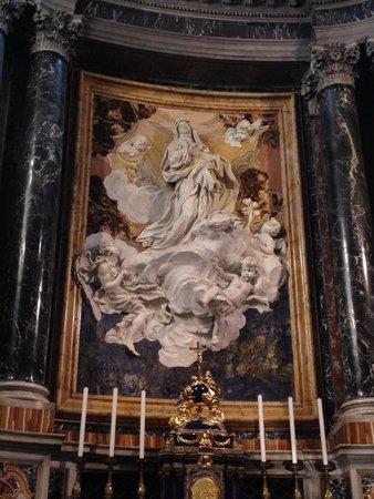 Santa Maria di Loreto: Beautiful sculpture