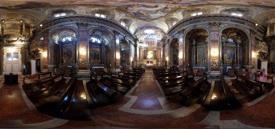 Santa Maria di Loreto: Church panorama