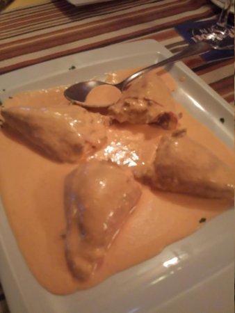 La Taberna: Stuffed pepers