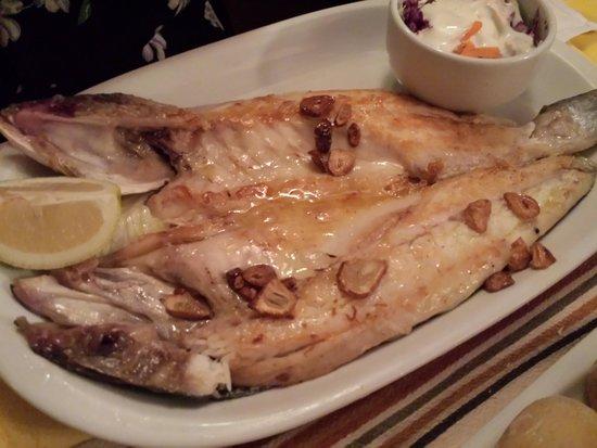 La Taberna: Fresh fish