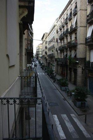 Pension Lourdes : Вид с балкона